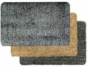Super Absorbent Magic Door Mat Entrance Clean Step Indoor Outdoor Rug Anti Slip