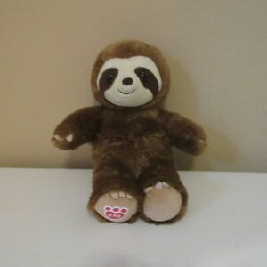 "Build a Bear Brown W Sloth 15"" Stuffed"