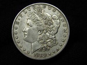 1880-O Morgan Silver Dollar ORIGINAL CHOICE XF+
