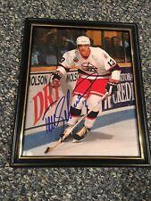 Teemu Selanne Autograph 8x10 Photo Authentic COA Card Winnipeg Jets NHL