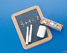 Plastic Chalkboard Set 6 Sets Party Favor