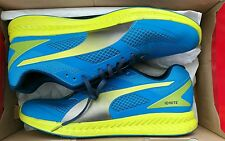 Puma Ignite Mesh Mens Running Shoes Trainers Blue UK Size 9 RRP £84.99