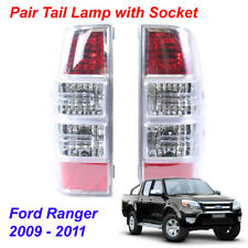 Pair Tail Light Lamp with Socket 2 Pc For Ford Ranger Pickup Truck 2009 - 2011