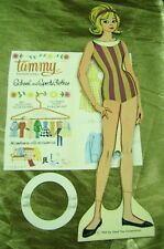 VTG PAPER DOLLS 1964 TAMMY SCHOOL SPORTS  ORIGINAL WHITMAN RARE FIND!! barbie