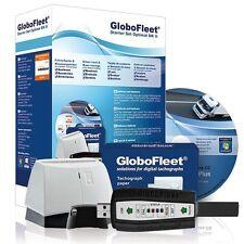 GloboFleet Starter Set Optimal DK II Auslesegerät Fahrerkarte digital Tachograph