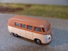 31574-1:87 chiuso dormobildach Brekina VW t1 camper giallo-bianco