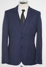 Men's Harry Brown heritage, Blue blazer and waistcoat set (40R).. sample 2012