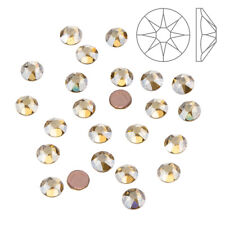 SWAROVSKI Crystal hotfix (2078) 3.9 mm GOLDEN SHADOW SS16 Confezione da 24 (K63/14)