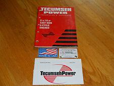 NEW Tecumseh engine 8-18HP cast iron engine service manual Sears,Bolens,Massey