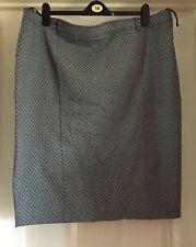 George Black Mix Flower Design Smart Skirt, Size 22 - Beautiful!