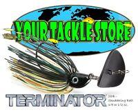 Terminator SDB Shuddering Bait Swim Jig 3/8 or 1/2 oz. Color & Qty NIP