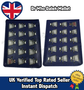 Dr Who Dalek Tardis Doctor Who PU Leather Wallet Christmas Gift Stocking Filler