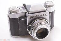 ✅ ROYER SAVOYFLEX II SLR CAMERA DOUBLE FOCUS MACRO SOM BERTHIOT 50MM 2.8 LENS
