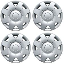 Hubcaps fits 14-16 Fiat 500 - 16 Inch Silver Replacement Wheel Cover Rim