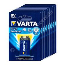 10x 9V E-Block / 6LP3146 - Batterie Alkaline, Varta High Energy 4922, 9V, 600 mA