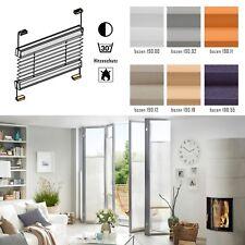 nach Maß SMART Mini Plissee f. Balkonverglasungen Fenster Hitzeschutz Blickdicht