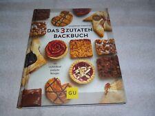 Das 3 Zutaten Backbuch Charmian Christie GU 101 verblüffend einfache Rezepte