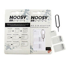 4-in-1 NOOSY Nano to Micro to Standard Sim Card Adaptor Adapter Converter