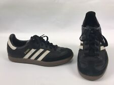 Adidas Samba Sneakers Shoes Soccer Youth Size 3.5 Black