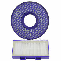 Washable Pre + Post Motor Hoover Filters for DYSON DC26 Vacuum Cleaner (Blue)