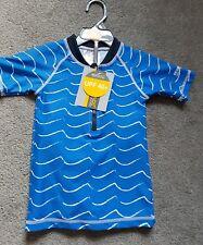 Boys Regatta Blue Swimsuit /Rash vest & Shorts Set 12-18 Months BNWT RRP £25.00