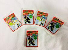 5 Packs =SCORE HOCKEY CARDS 1990-1991 (Unopened )Series 1