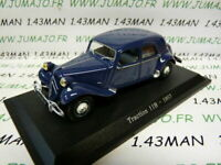 TRA65C voiture 1/43 atlas traction NOREV :  traction 11B 1957