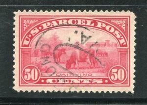 (1912-13) Q10 50¢ Parcel Post XF/SUPERB near JUMBO used stamp