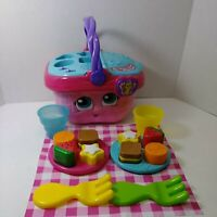 Leapfrog Shapes and Sharing Picnic Basket Pink