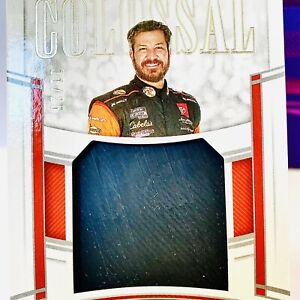MARTIN TRUEX JR COLOSSAL RACE USED TIRE! SICK! 2020 National Treasures SP /25