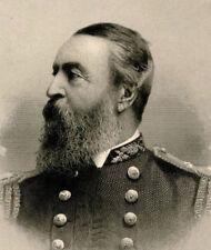 2nd Admiral in US Naval history DAVID DIXON PORTER engraving print