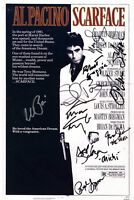 Scarface Cast Autographed Signed 11x17 Promotional Photo RACC TS UACC RD COA