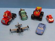 Cars Disney Pixar - Lot de Voitures (Lot 1) avec Mack en tôle et McQueen 4x4