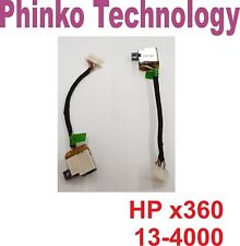 NEW DC Power Jack Hardness cable For HP Spectre X360 13-4000