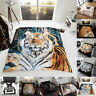 3D Print Animal Throws Double King Size Bed Faux Fur Blankets Sofa Large Fleece