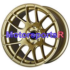 XXR 530 Gold 16 x 8.25 Concave Rims Wheels 4X114.3 85 87 Toyota Corolla GTS AE86