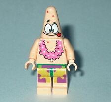 SPONGEBOB #03B Lego Patrick Tongue Out and Lei  NEW 3833-3818 Genuine Lego