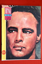 MARLON BRANDO ON COVER 1967 VINTAGE RARE EXYU MAGAZINE