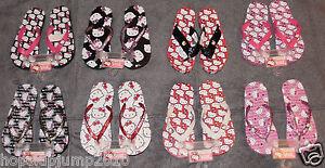 HELLO KITTY Flip Flops Sandals Girls 11/12, 13/1 & 2/3 ~ NWT