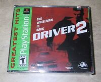 Driver 2 NEW factory sealed for Sony PlayStation 1 PSX PS1