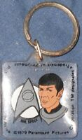 STAR TREK The Motion Picture Keyring keychain 1979 Paramount original RARE SPOCK