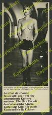 """Gila von Weitershausen Erotik nackt """"Ohrfeigen"""" Kommune Film Lübeck Rathaus 1970"""