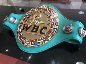 Tyson Fury WBC WORLD CHAMPION Commemorative Boxing Belt + CASE -WBA, WBO, IBF