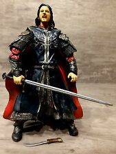 """The Lord of the Rings ROTK 6"""" Scale SUPER POSABLE PELENNOR FIELDS ARAGORN Loose"""
