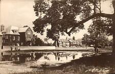 Epsom. Woodcote Pond by F.T.Ayers, Epsom.