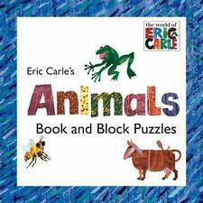 Eric Carle's Animals: Book and Block Puzzle The World of Eric Carle