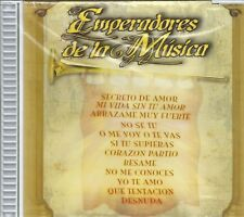 EMPERADORES DE LA MUSICA - CD - 12 Tracks -  BRAND NEW