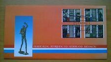 nvph 1329 - 1332 op speciaal herdenkingscover