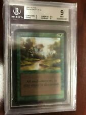 MTG Alpha Tranquility BGS Graded 9 Mint