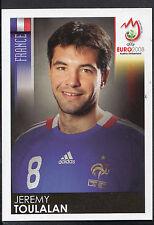 Panini Football Sticker - Euro 2008 - No 348 - France - Jeremy Toulalan
